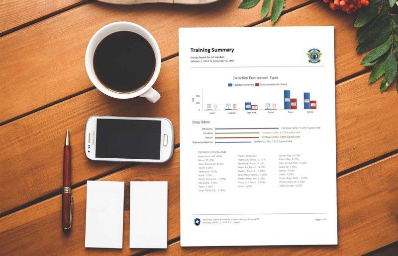 K9 Training Summary Report