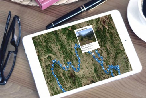 Tracking Map On An iPad